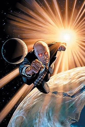 Lex Luthor - 52: Week 39. Cover art by J.G. Jones.