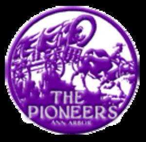 Pioneer High School (Ann Arbor, Michigan) - Image: A2Pioneer Logo