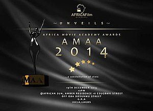 10th Africa Movie Academy Awards - Official poster