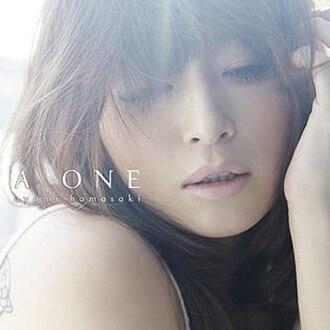 A One - Image: A ONE (Ayumi Hamasaki album cover art)