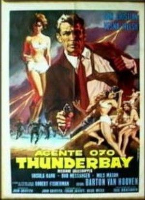 Agente Segreto 070: Thunderbay Missione Grasshopper - Original film poster