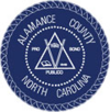 Official seal of Alamance County
