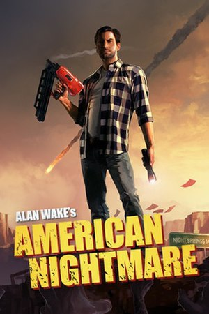 Alan Wake's American Nightmare - Image: Alan Wake American Nightmare Box Art