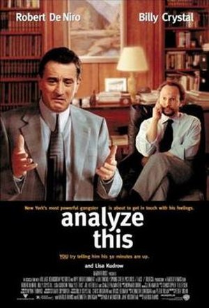 Analyze This - Theatrical release poster