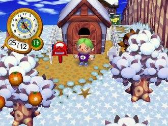 Animal Crossing: City Folk - Image: Animal Crossing City Folk Start
