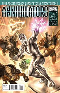 Annihilators (Marvel Comics) Fictional comic book team
