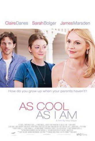 As Cool as I Am (film) - Theatrical release poster