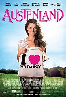<i>Austenland</i> (film) 2013 American romantic comedy film directed by Jared and Jerusha Hess
