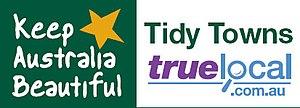 Australian Tidy Town Awards - Logo of Keep Australia Beautiful - Tidy Towns