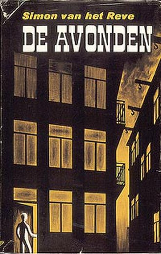 De Avonden - Cover of the first edition of De avonden. Gerard Reve used the pseudonym Simon van het Reve for this edition.