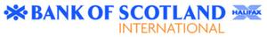 Bank of Scotland International - Image: Bank of Scotland International