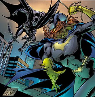 Batgirl - Barbara Gordon and Cassandra Cain as Batgirl. Art by Matt Haley and David Hahn.