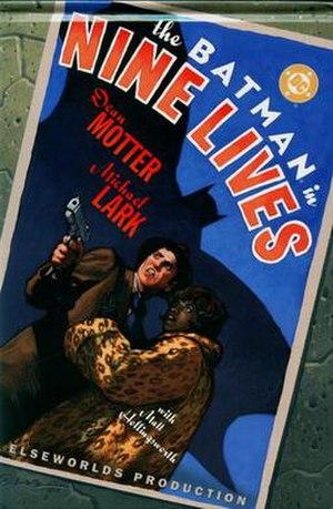 Batman: Nine Lives - Image: Batman 9 Lives cover