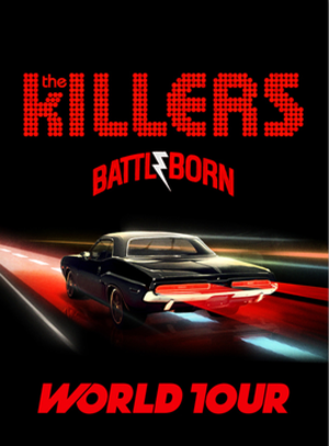 Battle Born World Tour - Image: Battle Born Poster