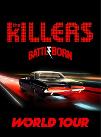 Battle Born World Tour - Image: Battle Born Poster