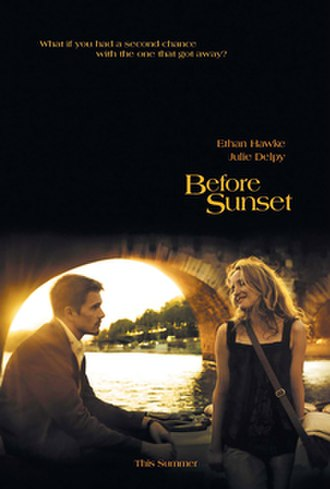 Before Sunset - Theatrical release poster