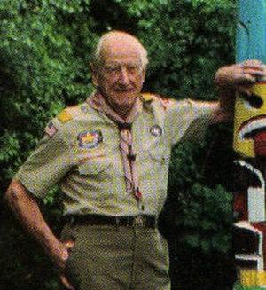 William Hillcourt - Image: Bill Hillcourt in 1985