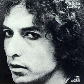 Hard Rain (Bob Dylan album) - Image: Bob Dylan Hard Rain