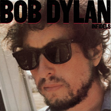 A photograph of Dylan's face, wearing sunglasses and a short beard