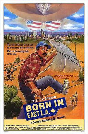 Born in East L.A. (film) - Theatrical release poster