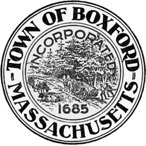 Boxford, Massachusetts - Image: Boxford MA seal