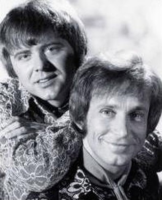 Boyce and Hart - Tommy Boyce (left) and Bobby Hart