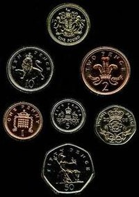 Coins of the pound sterling - Wikipedia
