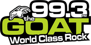 CKQR-FM - Image: CKQR thegoat 993 logo