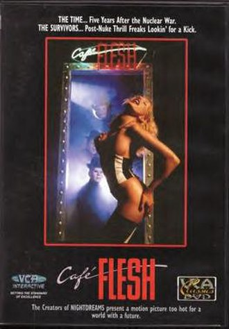 Café Flesh - DVD cover