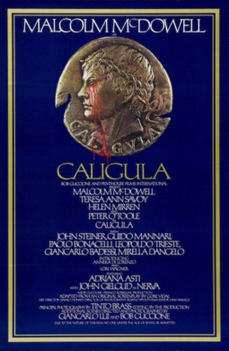 Caligula (film) - US film poster