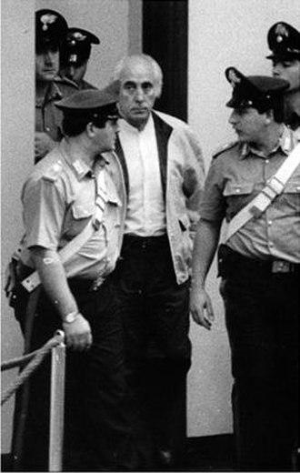 Giuseppe Calò - Mafia boss Giuseppe Calò at the Maxi Trial