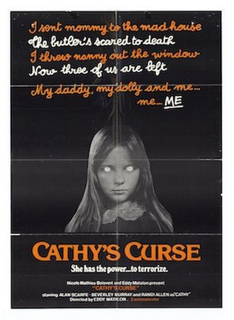 Cathy's Curse - Theatrical poster