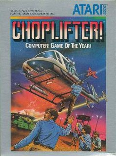 <i>Choplifter</i> 1982 video game