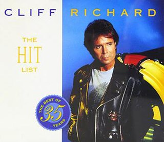 <i>The Hit List</i> (Cliff Richard album) 1994 compilation album by Cliff Richard