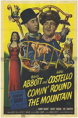 Comin' Round the Mountain - Theatrical release poster