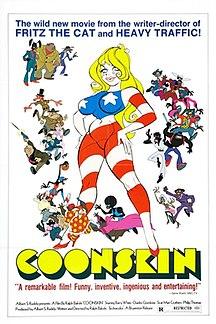 <i>Coonskin</i> (film) 1975 blaxploitation film by Ralph Bakshi