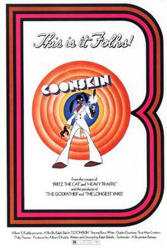 Coonskin (film) - Theatrical release poster
