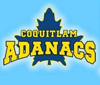 Coquitlam Adanacs - Image: Coq Adanacs