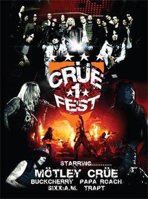 Crüe Fest - Image: Cruefest 2008