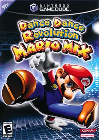Dance Dance Revolution: Mario Mix - North American cover art