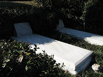 Duane Allman - The graves of Duane Allman and Berry Oakley