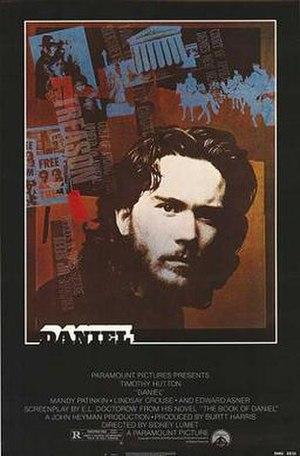 Daniel (film) - Theatrical release poster