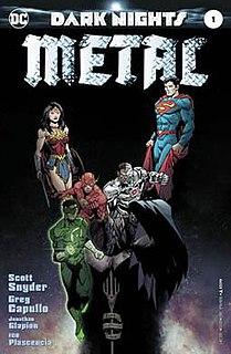<i>Dark Nights: Metal</i> DC Comics miniseries