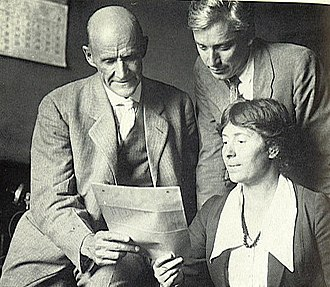 Eugene V. Debs - Debs with Max Eastman and Rose Pastor Stokes in 1918