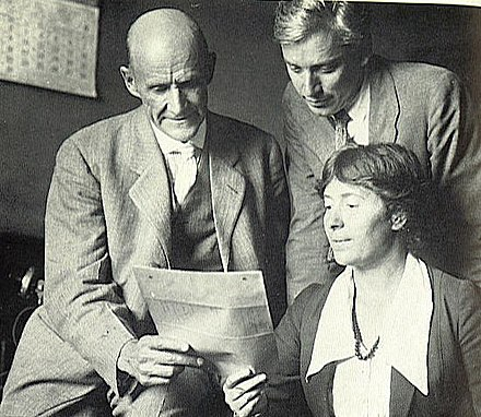 Debs with Max Eastman and Rose Pastor Stokes in 1918 Debs, Eastman, Rose Pastor Strokes.jpg