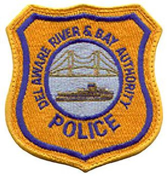 Delaware River and Bay Authority - Delaware River and Bay Authority Police patch