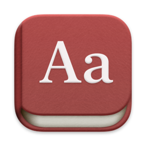 Dictionary (software) - Image: Dictionary Icon