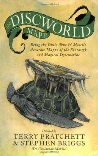 The Discworld Mapp - Cover of Discworld Mapp atlas.
