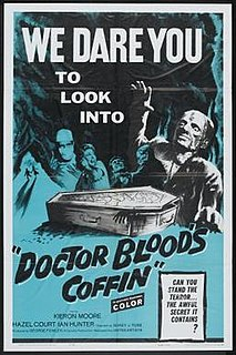<i>Doctor Bloods Coffin</i> 1961 film by Sidney J. Furie