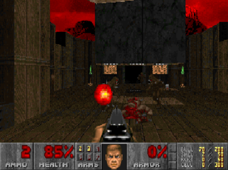 First-person shooter video game genre centered around gun and other weapon-based combat in a first-person perspective